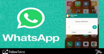 Cara Menampilkan Pop Up Whatsapp
