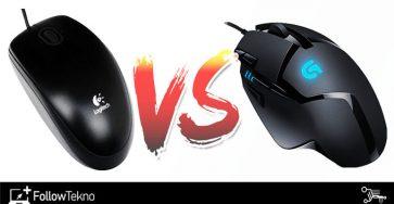 Perbedaan Mouse Gaming dan Mouse Biasa