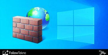Cara Mematikan Firewall Windows