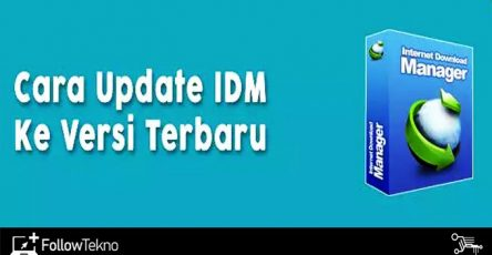 Cara Update IDM