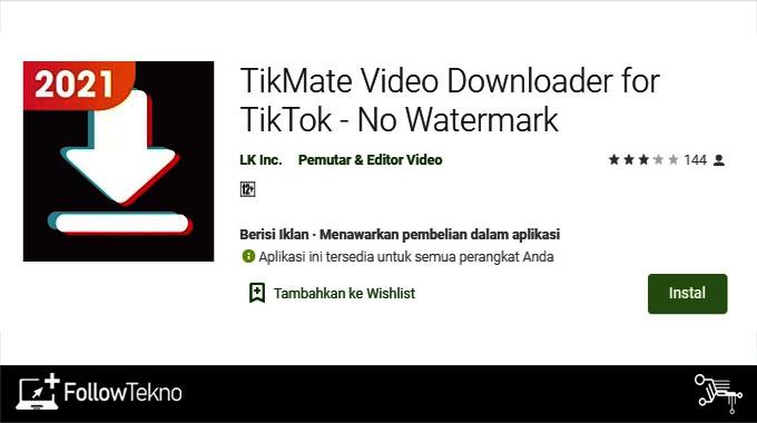 12 Cara Download Video Tiktok Viral Tanpa Watermark Sekali Klik