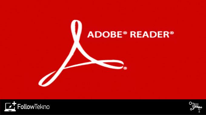 Aplikasi Membuka File PDF Adobe Acrobat Reader