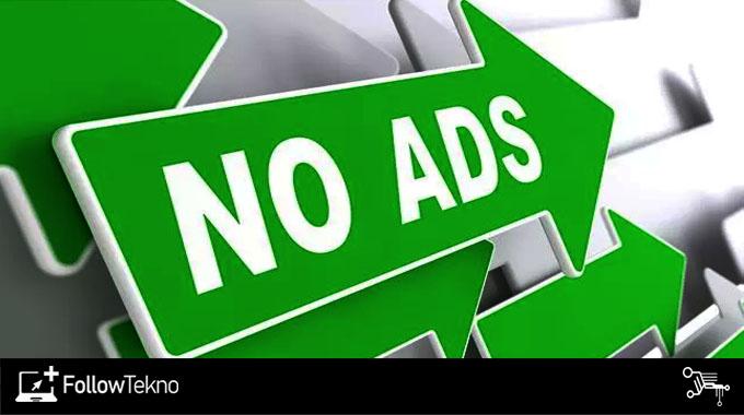 Gunakan browser yang bebas iklan