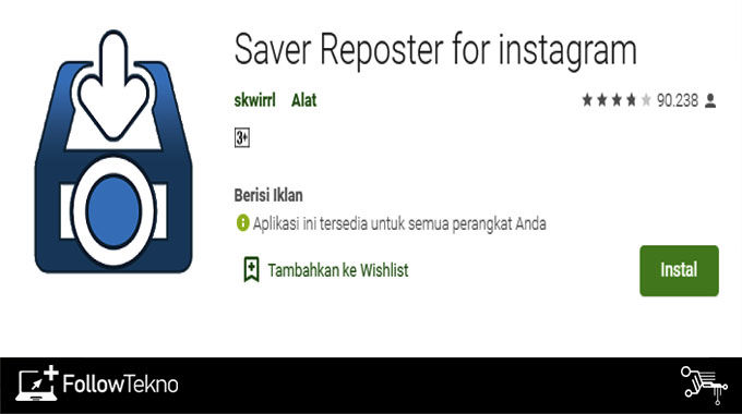 Save Reposter For Instagram