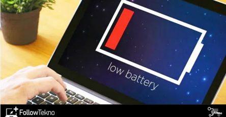 Cara Kalibrasi baterai laptop