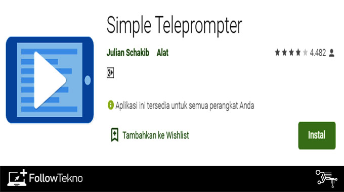 Simple Teleprompter