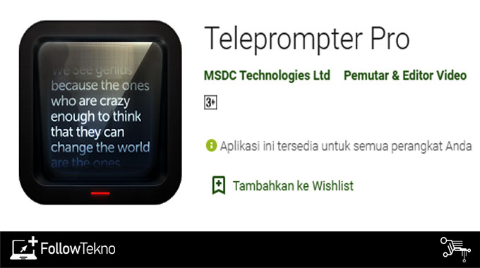 Teleprompter Pro